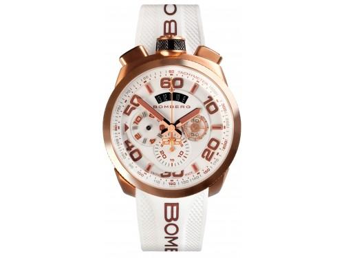 Bomberg Bolt 68 Cronografo Neon White orologio da polso uomo