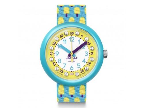 Orologio Swatch Flik Flak Lemon Freeze
