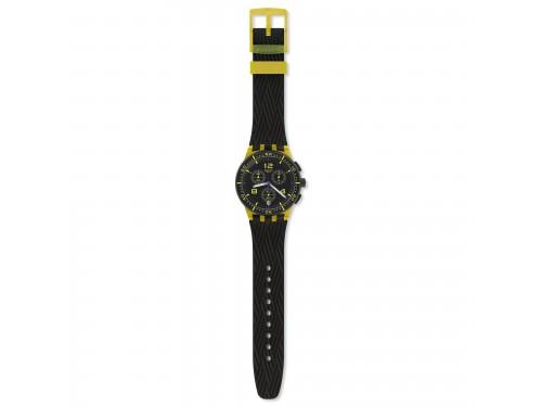Orologio Cronografo Swatch Yellow Tire