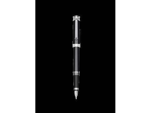 Penna Stilografica Montegrappa Nerouno in Resina Nera e Palladio