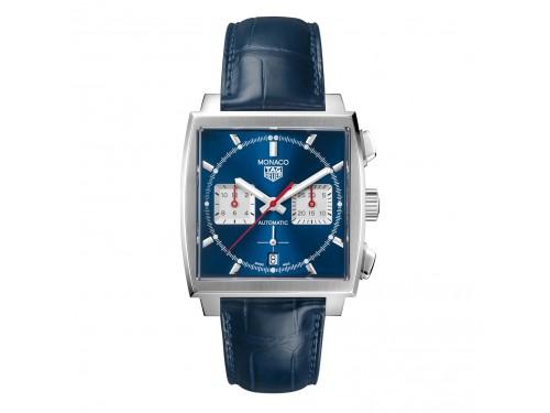 Cronografo Automatico Tag Heuer Monaco Blu Brillante