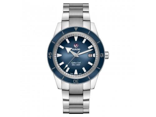 Orologio Rado Captain Cook con Quadrante Blu e Cinturino in Acciaio