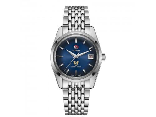Orologio automatico Rado Golden Horse Automatic Edizione Limitata quadrante blu