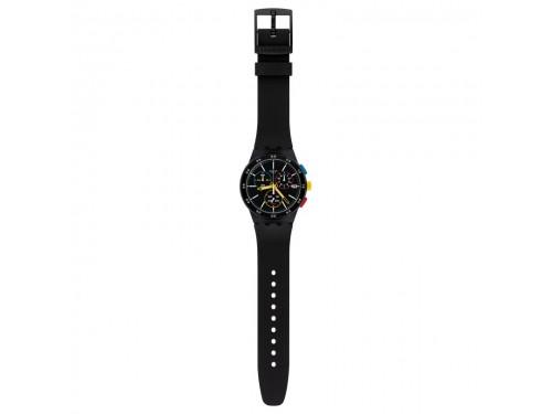 Orologio Cronografo Swatch Black-One