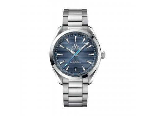Orologio Omega Aqua Terra 150M Co-Axial Master Chronometer con Quadrante Blu