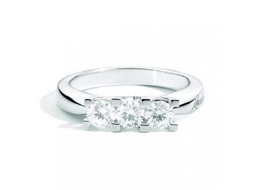 Anello Trilogy Recarlo Maria Teresa in Oro Bianco Diamanti