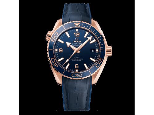 Omega orologio Uomo Seamaster Planet Ocean 600m Master Chronometer in oro Sedna