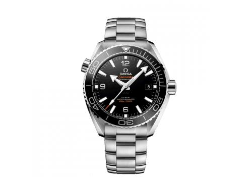 Omega orologio Uomo Planet Ocean 600 M In acciaio con quadrante nero