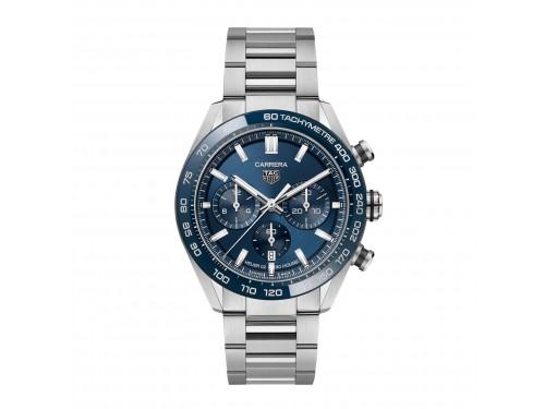 Cronografo Automatico Tag Heuer Carrera Calibro 02 Quadrante Blu