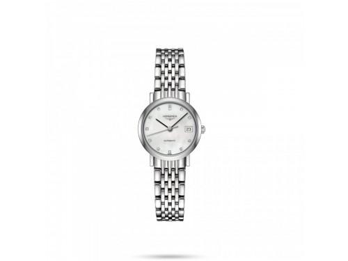 Orologio The Longines Elegant Collection con Diamanti e Madreperla