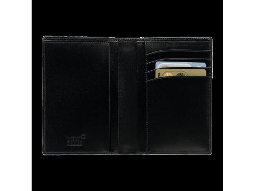 Portafoglio Montblanc Meisterstück 4 scomparti in pelle nera