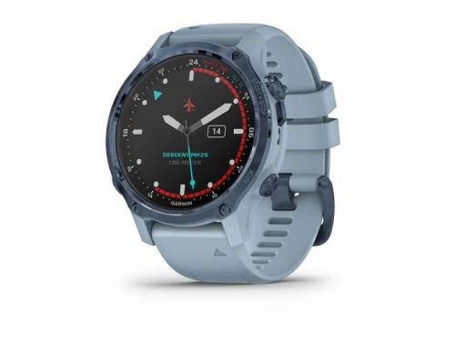 SmartWatch Garmin Descent Mk2S Mineral Blue con Cinturino in Silcone