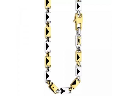 Collana da Uomo Zancan Insignia in Oro Bicolore