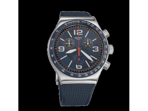 Orologio Cronografo Swatch Blue Grid