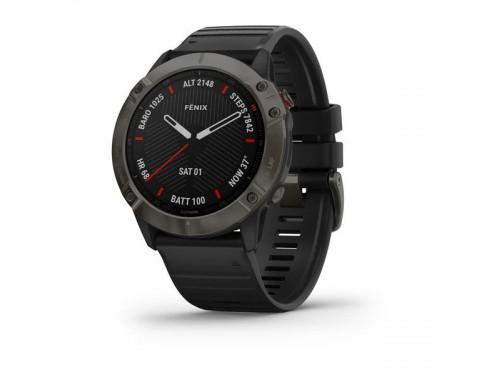 Tool Watch Garmin Fēnix 6 Carbon Grey - Pro And Sapphire Edition