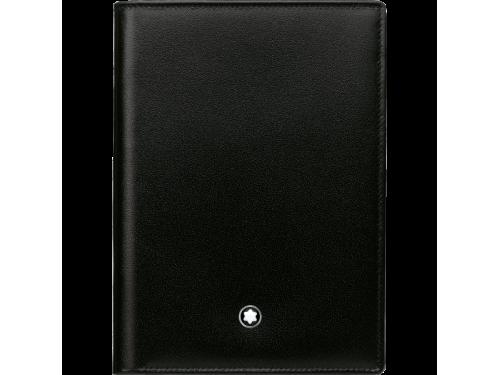 Portafoglio Montblanc Meisterstück 4 scomparti con tasca trasparente