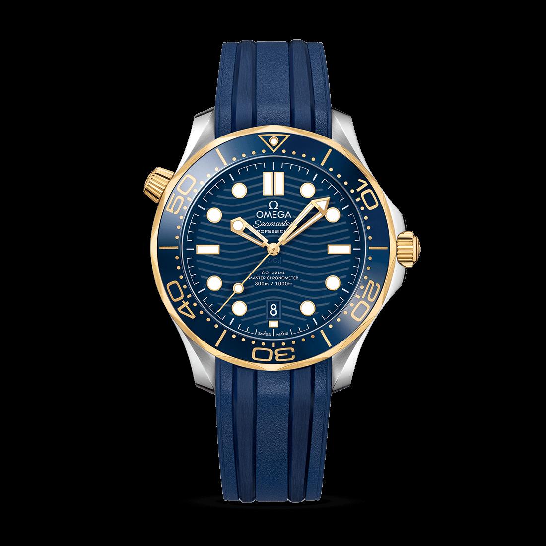 Orologio Omega Seamaster Diver 300M Co-Axial Master Chronometer con Oro Sedna