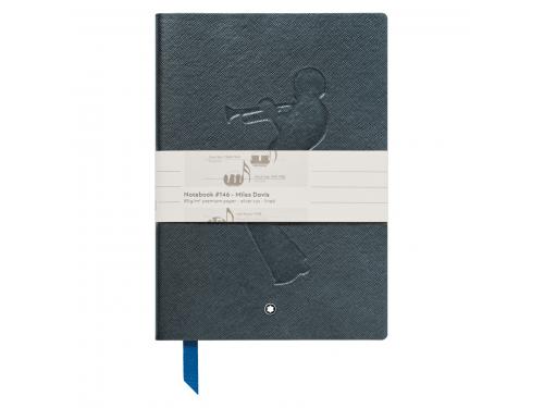 Cancelleria di lusso Montblanc Blocco note 146 a righe Edizione Miles Davis