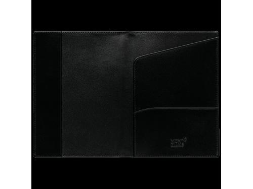 Portapassaporto internazionale  Montblanc Meisterstück in pelle nera