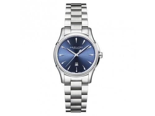 Orologio donna Hamilton Jazmaster Viewmatic Automatico quadrante blu