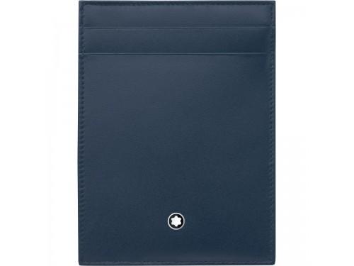 Custodia tascabile 4 scomparti Montblanc Meisterstück con portadocumenti