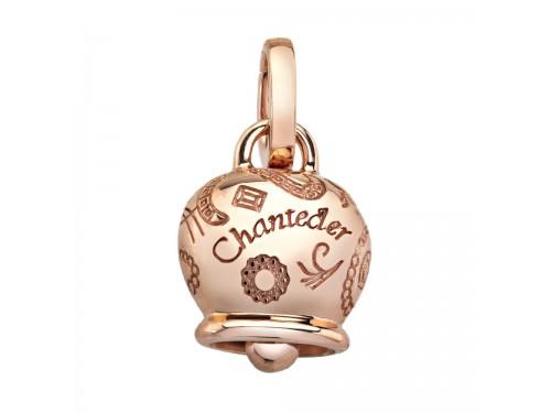 Le Campanelle Chantecler Ciondolo medio in oro rosa