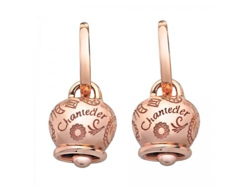 Mono orecchino Chantecler Campanella media in oro rosa