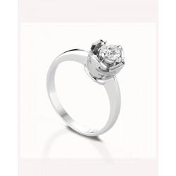 Collana doppio filo Chantecler Capri in oro bianco con elementi sfere oro e diamanti bianchi