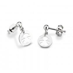 Bracciale in argento Chantecler Et Voilà con ciondolo campanella micro in argento e smalto turchese