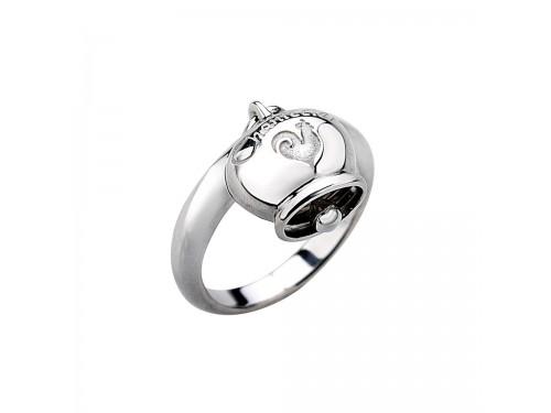 Chantecler Et voilà Anello in argento 925 con campanella