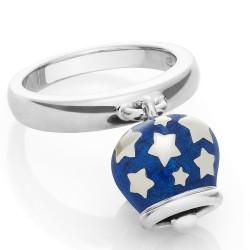 Bracciale Coscia 3 file di perle con chiusura in argento dorato Le Lune Glamur