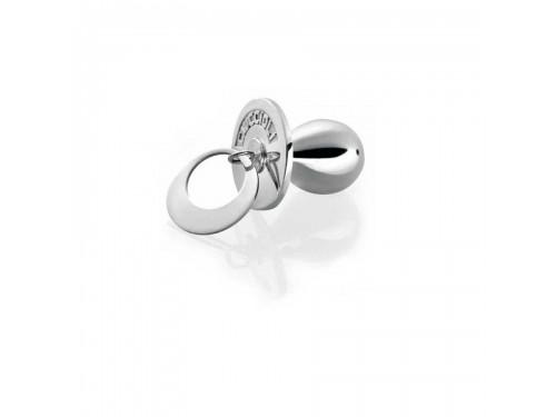 I Ciuccioli Gioielli ciondolo pendente ciuccio piccolo in argento 925 con collana 55 cm