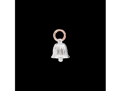 Charms Queriot Fortunella della bellezza in argento e oro rosa