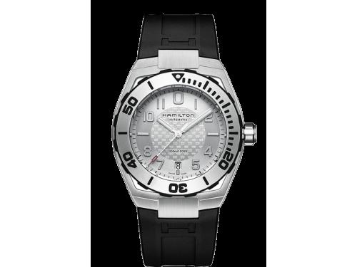 Hamilton orologio uomo Khaki Navy Sub Auto nero