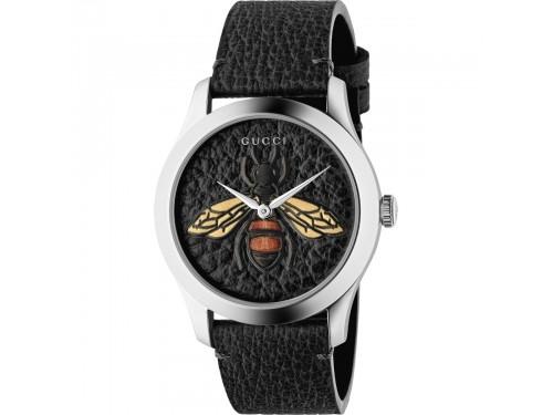 Orologio Gucci G-Timeless con Quadrante e Cinturino in Pelle