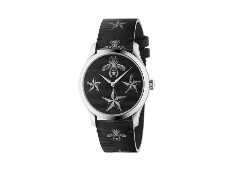 Orologio al quarzo Gucci G-Timeless 38mm con quadrante olografico