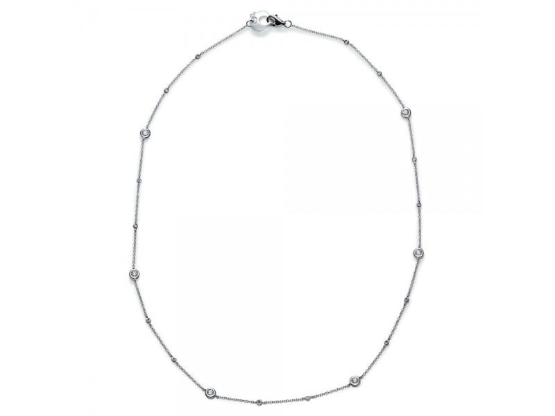 Collana Chantecler Capri in oro bianco e diamanti