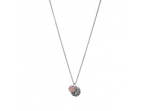 Collana a girocollo Maria e Luisa Jewels con lenticchie in Argento e Oro