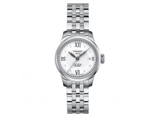 Orologio Tissot Le Locle Automatic Lady con Diamanti e Bracciale in Acciaio