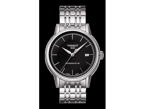 TISSOT orologio uomo Carson Automatic Gent nero