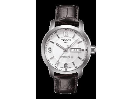 TISSOT orologio uomo PRC 200 AUTOMATIC GENT bracciale in pelle