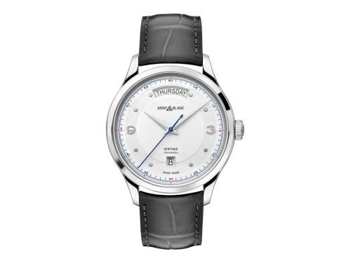 Orologio Montblanc Heritage Automatic Day Date con Cinturino in Pelle di Alligatore