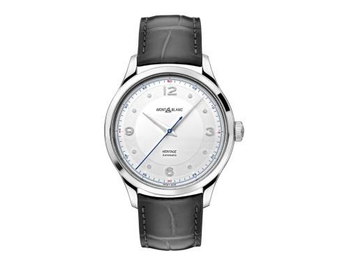 Orologio Montblanc Heritage GMT con Cinturino in Pelle di Alligatore