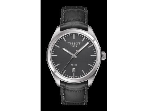 TISSOT orologio uomo PR 100 Gent quadrante grigio