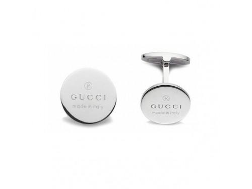 Gemelli Gucci Trademark in Argento Tondi