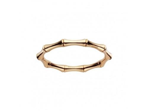 Bracciale Semi Rigido Gucci Bamboo Medio in Oro Giallo