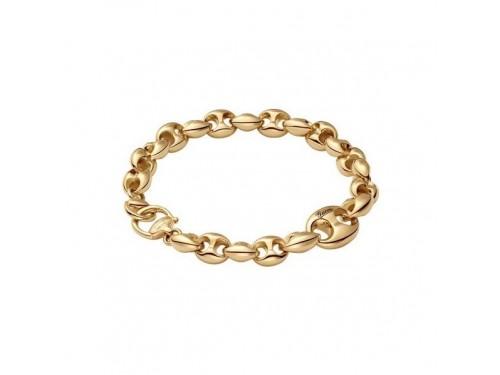Bracciale Gucci Marina Chain in Oro Giallo con Morsetto