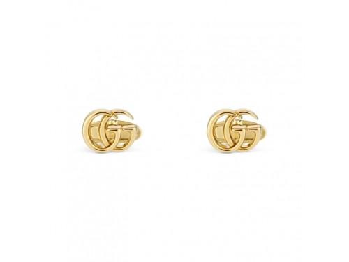 Gemelli Gucci GG Running in Oro Giallo con Logo Doppia G