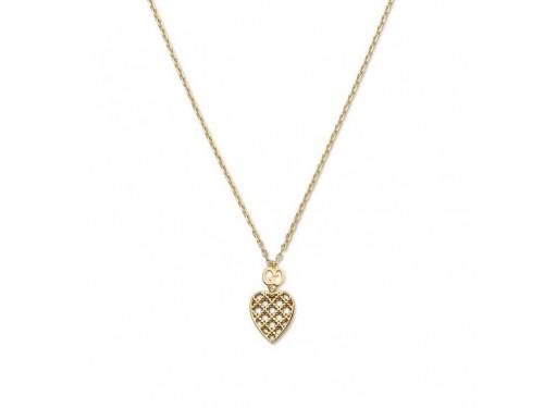 Collana Gucci Diamantissima in Oro Giallo con Pendente a Cuore