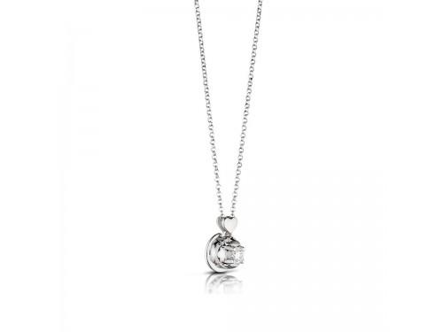 Puntoluce Le Bebé gioielli maschietto e femminuccia in oro bianco e diamante 0.11 carati